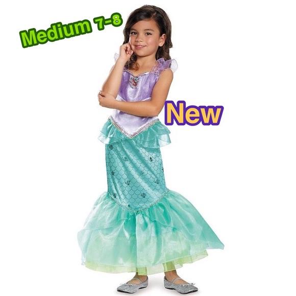 Disney Princess Ariel Deluxe Girls Costume Sz 7-8  sc 1 st  Poshmark & Disguise Costumes | Disney Princess Ariel Deluxe Girls Costume Sz 78 ...